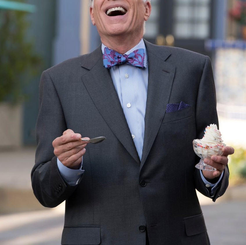 THE GOOD PLACE -- _Janet and Michael_ Episode 207 -- Pictured- Ted Danson as Michael -- (Photo by- Colleen Hayes_NBC)