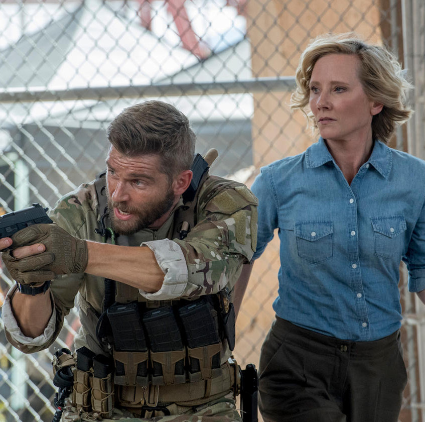 THE_BRAVE_--__Break_Out__Episode_104_--_Pictured-_(l-r)_Mike_Vogel_as_Captain_Adam_Dalton,_Anne_Heche_as_Patricia_Campbell_--_(Photo_by-_Lew…_Lewis_Jacobs_NBC___2017_NBCUniversal_Media,_LLC.