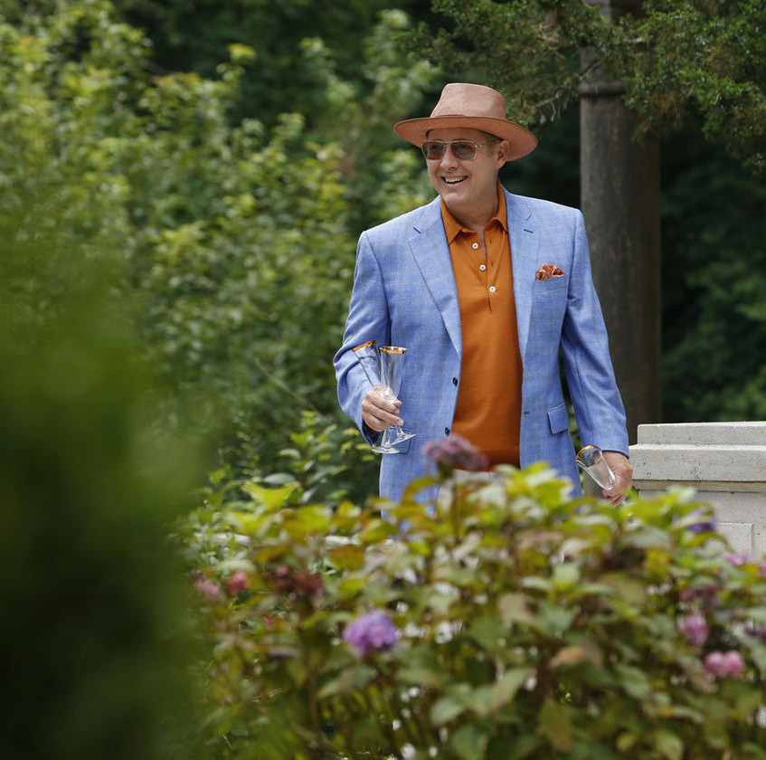 THE BLACKLIST -- _Greyson Blaise_ Episode 502 -- Pictured- James Spader as Raymond _Red_ Reddington -- (Photo by- Will Hart_NBC) Will Hart_NBC _ 2017 NBCUniversal Media, LLC