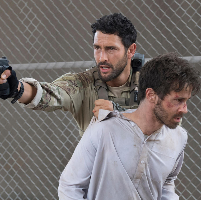 THE_BRAVE_--__Break_Out__Episode_104_--_Pictured-_(l-r)_Noah_Mills_as_Sergeant_Joseph__McG__McGuire,_Connor_Paolo_as_Nate_--_(Photo_by-_Lewi…_Lewis_Jacobs_NBC___2017_NBCUniversal_Media,_LLC.