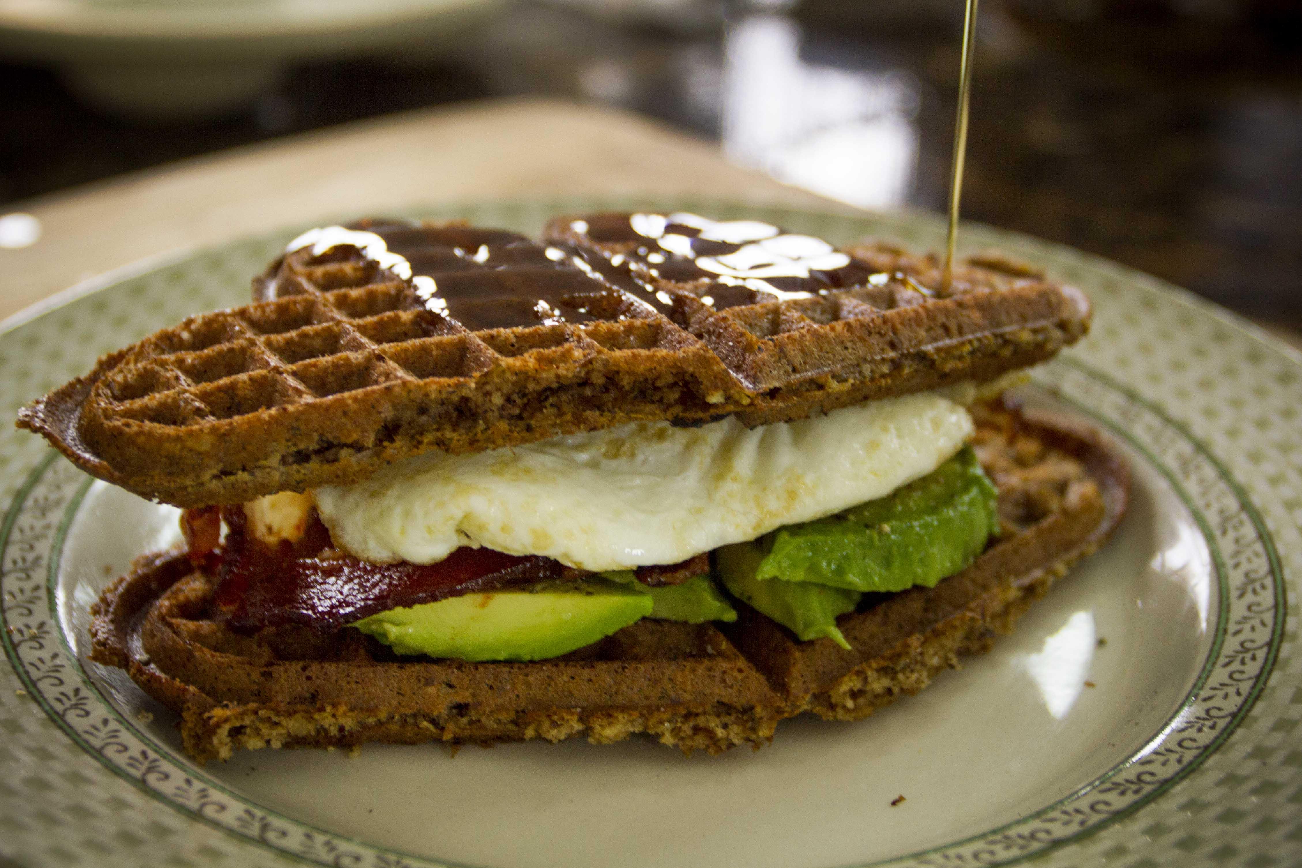 waffle love sandwich