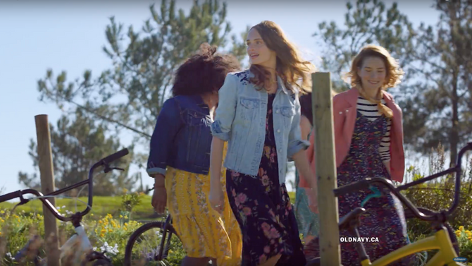 Old Navy: Making Dresses Sporty Again