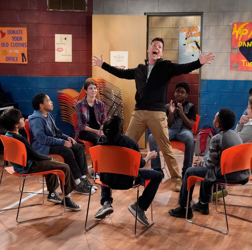 WILL & GRACE -- _Emergency Contact_ Episode 103 -- Pictured- Sean Hayes as Jack McFarland -- (Photo by Chris Haston_NBC)