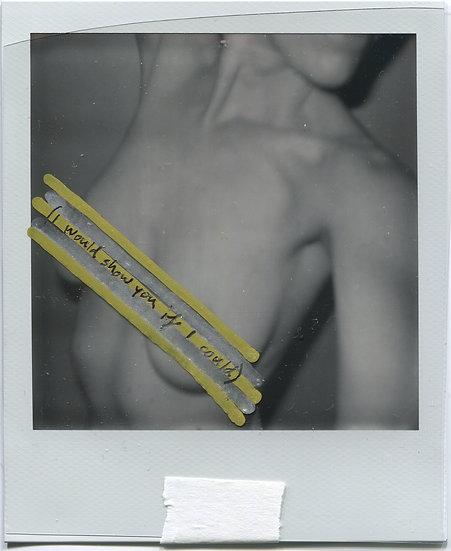 Polaroid or Print Signed & Smoochedby Wyoh