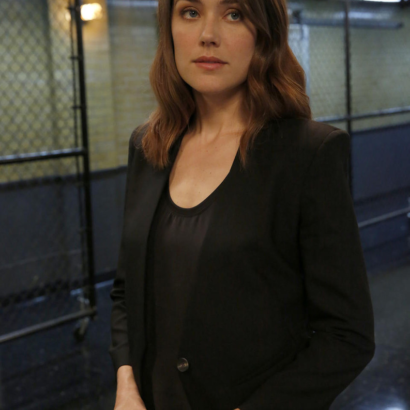 THE BLACKLIST -- _Miss Rebecca Thrall (#76)_ Episode 503 -- Pictured- Megan Boone as Elizabeth Keen -- (Photo by- Will Hart_NBC) Will Hart_NBC _ 2017 NBCUniversal Media, LLC