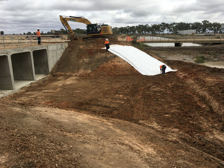 Extons Earthmoving Channel and Culvert Earthworks