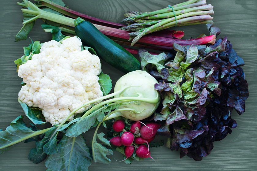 variety of vegetables