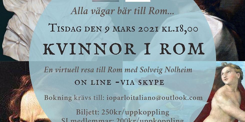 Alla vägar bär till Rom - Kvinnor i Rom (svenska)