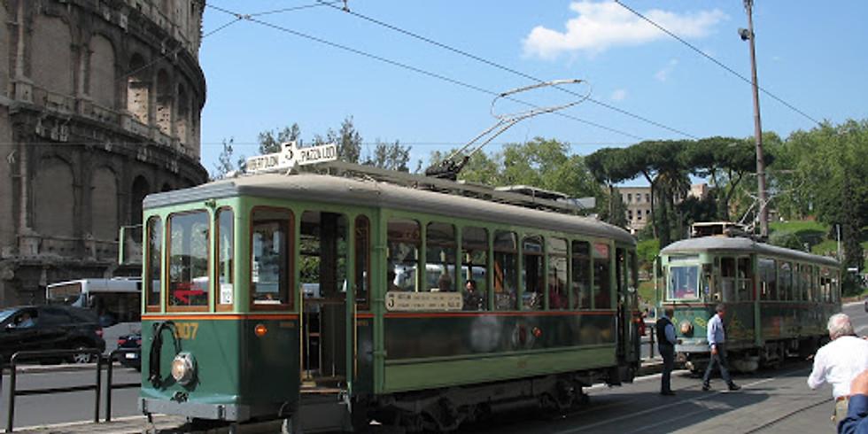 Italienska Kulturtåg - På spåret i Rom (svenska)
