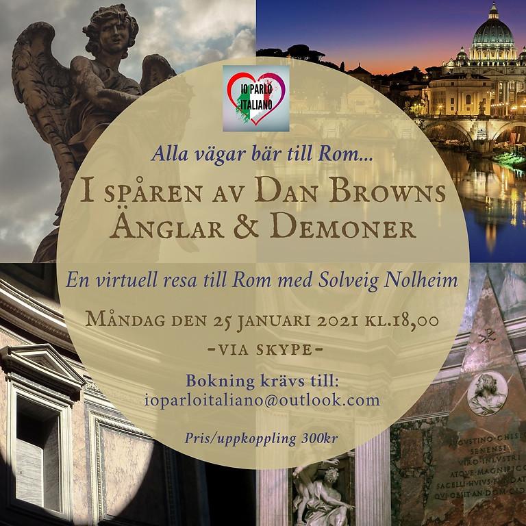 Alla vägar bär till Rom - I spåren av Dan Browns Änglar & Demoner (svenska)