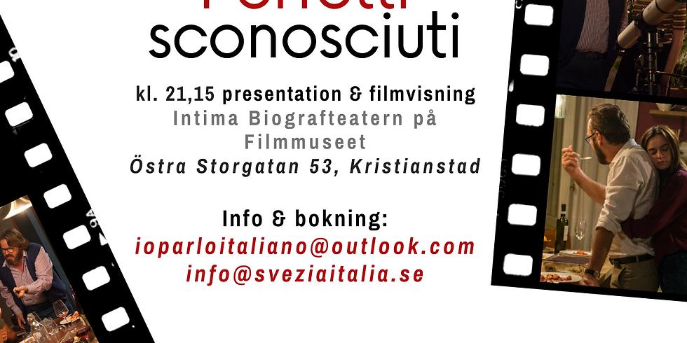 "Cinema sotto le stelle - ""Perfetti sconosciuti"" (italienska med engelska texter)"