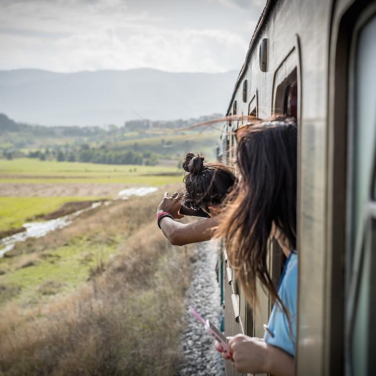 Italienska Kulturtåg - Transiberiana Järnväg (svenska)