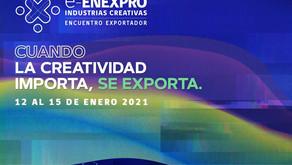 TE INVITAMOS A SER PARTE DE ENEXPRO: INDUSTRIAS CREATIVAS 2021