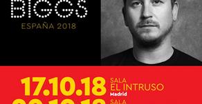 TESTIMONIO: JOSE BIGGS Y SU GIRA EN ESPAÑA