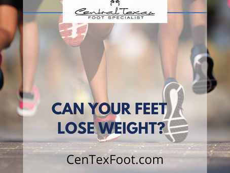 How Weight Loss Affects your Feet