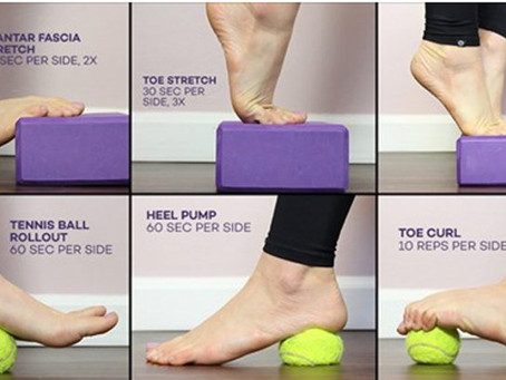 3 Amazing Plantar Fasciitis Exercises to Release Foot Pain