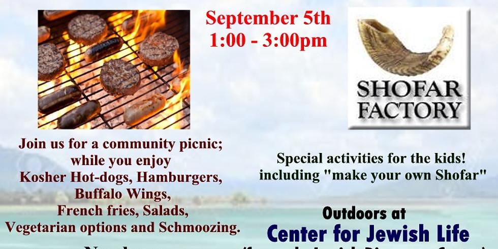 Annual Community Labor day picnic!