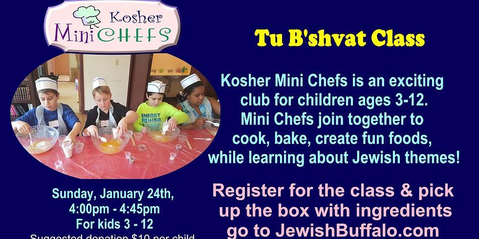 Kosher Mini Chefs Tu B'shvat