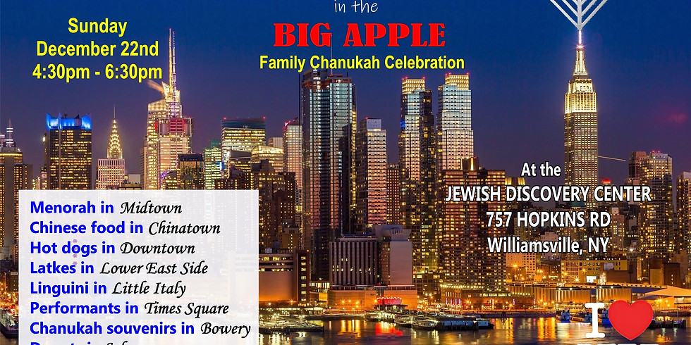 Chanukah in the Big Apple