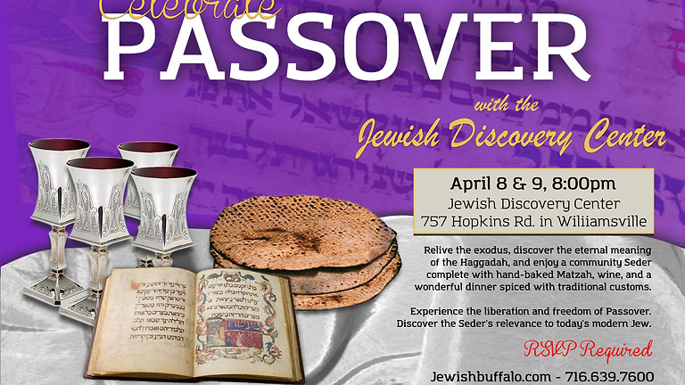 Community Passover Seder, all are welcome