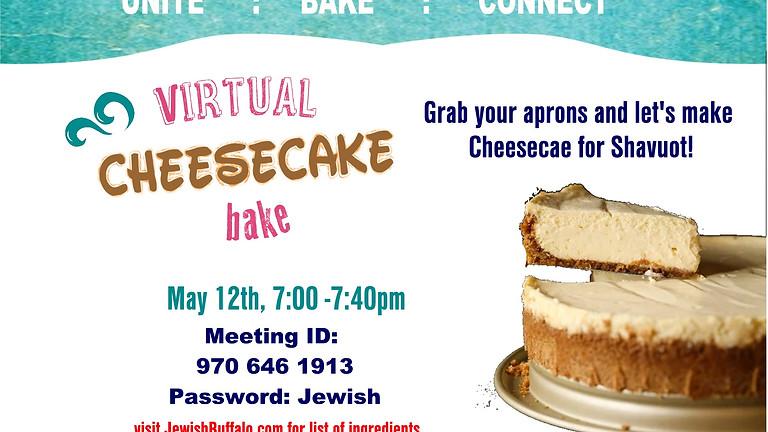 Shavuot Cheesecake bake