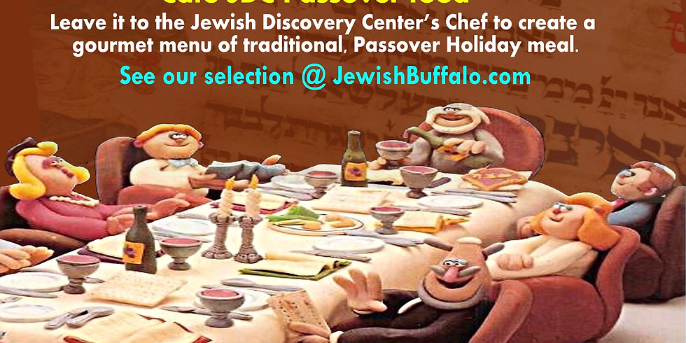 Cafe JDC Passover food.  to see list of foods please go to: squareup.com/store/Pesach
