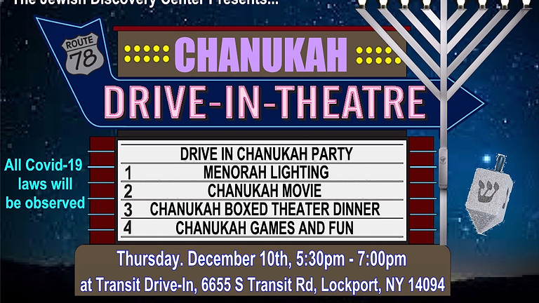 Chanukah @ Drive-in Theater
