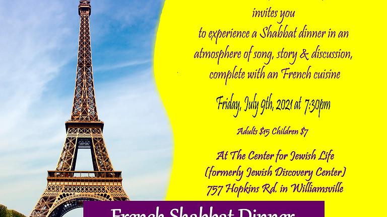 French Shabbat dinner