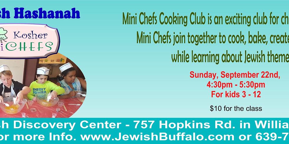 Kosher Mini Chefs - Pre-Rosh Hashanah