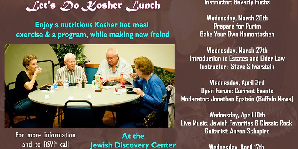 Let's do Kosher lunch