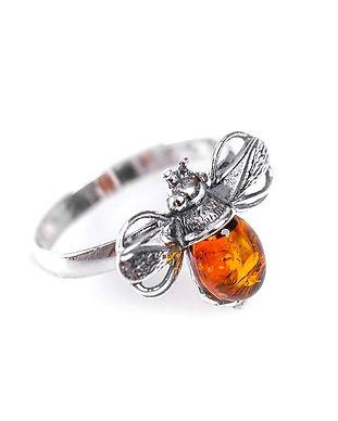2-0654-c-bu-cognac-amber-bumble-bee-ring