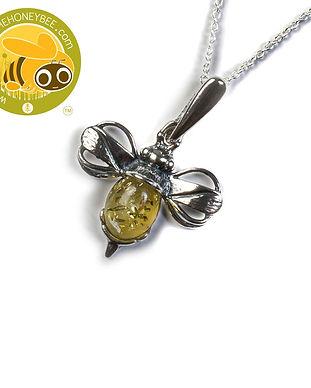 2-0654-100-XS-Y-BU-Miniature-Bee-Necklac