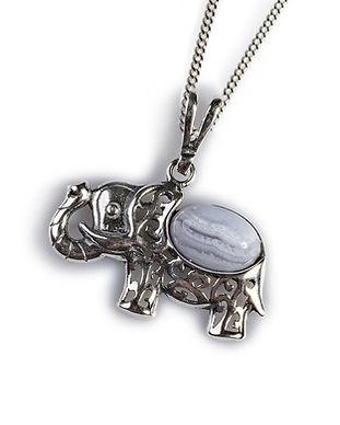 ph305-agbl-b-agate-blue-elephant-pendant