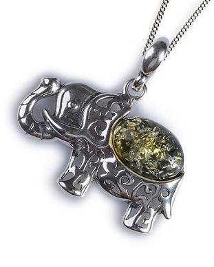 ph305-g-cos-green_amber_elephant_pendant