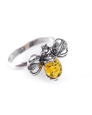 2-0654-y-bu-yellow-amber-bumble-bee-ring