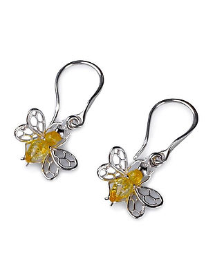 eh711-y-bu-yellow_honey_bee_hook_earring