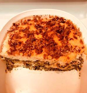 Cauli-Kale Cheesy Casserole