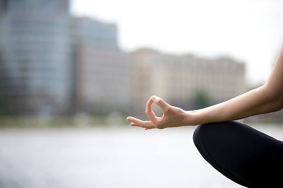 Yoga Mudra Image Branding