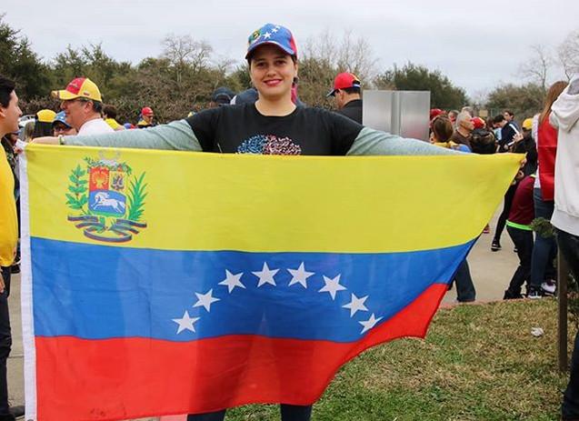 La arepa had a Venezuelan pride day toda