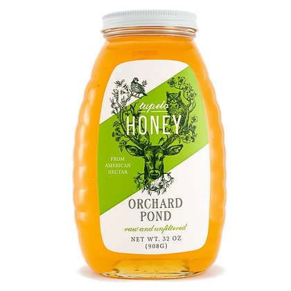 Tupelo Honey: 32 Ounce Glass Jar