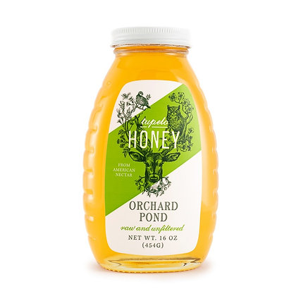 Tupelo Honey: 16 Ounce Glass Jar