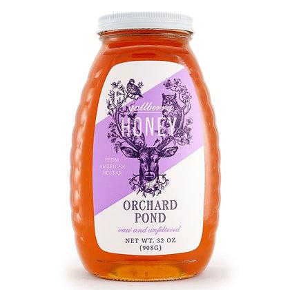 Gallberry Honey: 32 Ounce Glass Jar