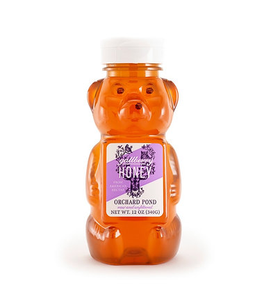Gallberry Honey: 12 Ounce Squeeze Bear