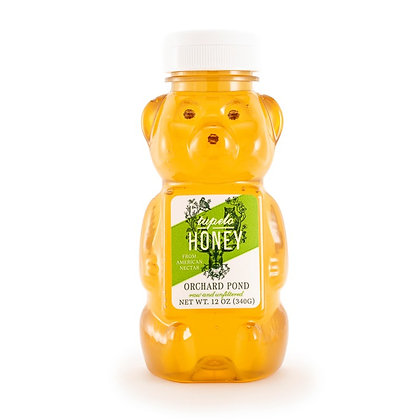 Tupelo Honey: 12 Ounce Squeeze Bear