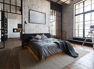 luxury studio apartment with a free layo