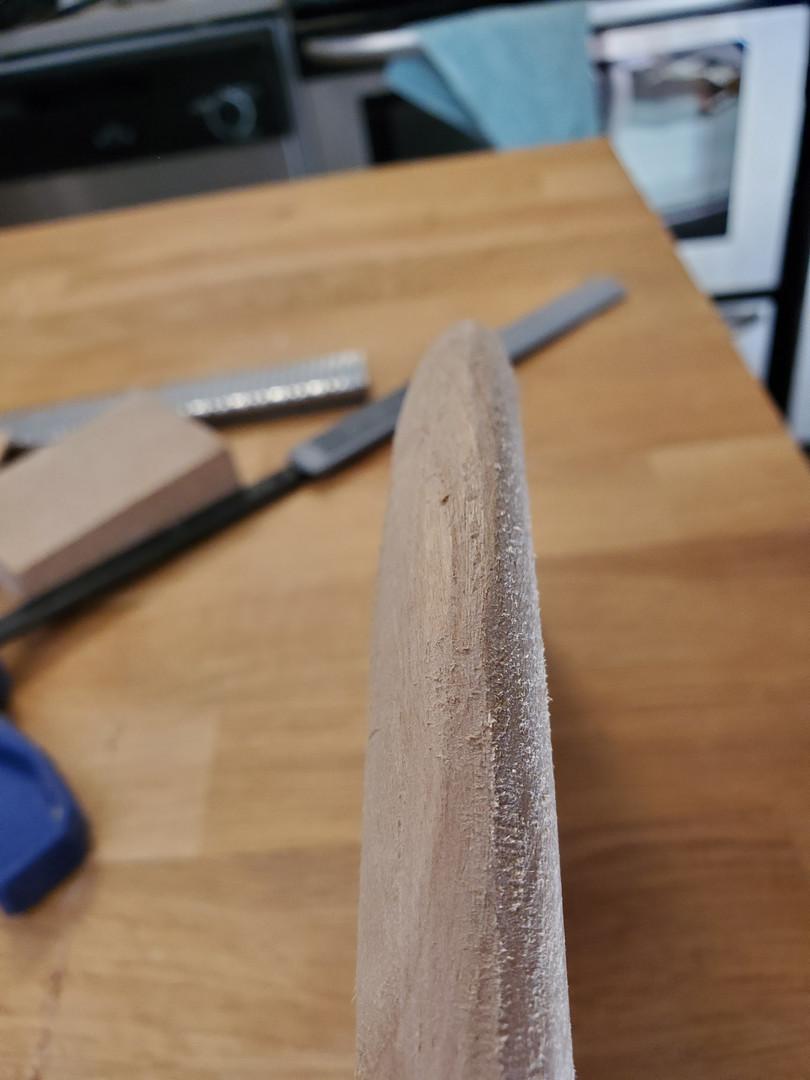 Rough Edge Detail
