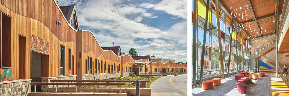 ​Sandy Hook Elementary School by Svigals + Partners