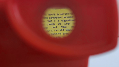 """""""The ViewMaster is so powerful. Especially to let people know that they aren't alone."""" - T. Gifford"""
