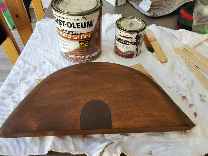 Second Stain Layer