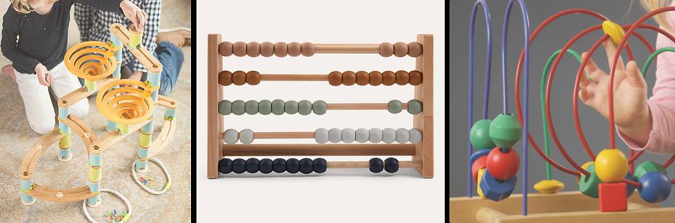 Marble Run Abacus Bead Maze